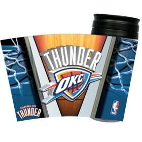 Oklahoma City Thunder Insulated Travel Mug #OklahomaCityThunder