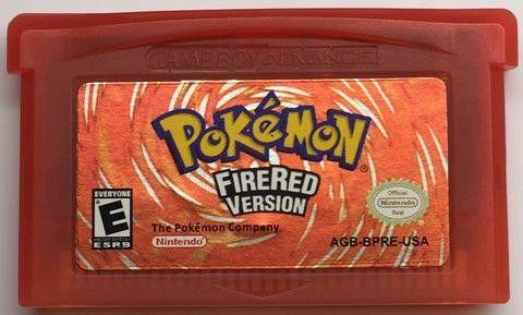 Pokemon Fire Red Version - Game Boy Advance