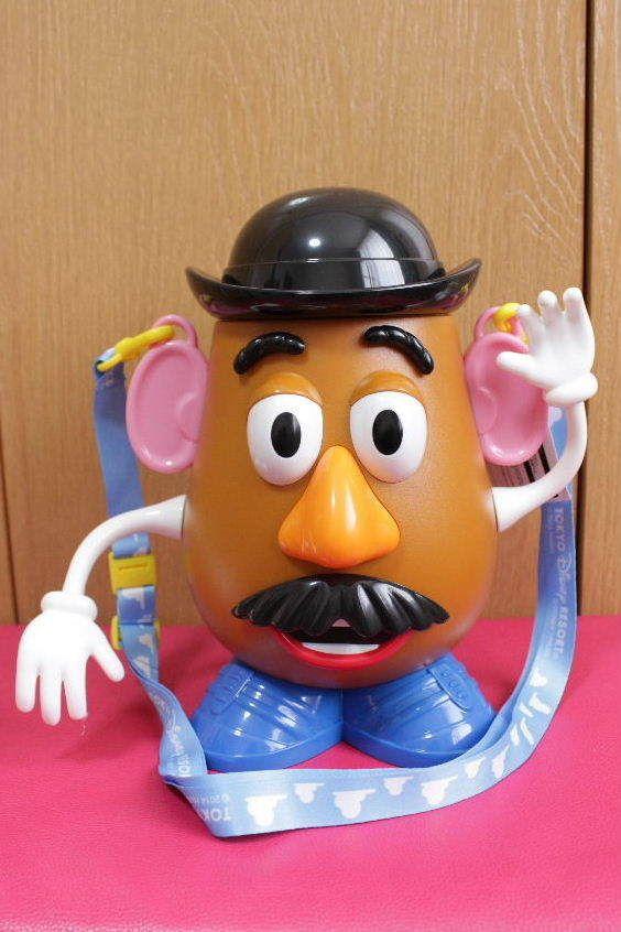 NEW Tokyo Disney Resort Popcorn Bucket Mr. Potato Head Toy Story Japan Limited