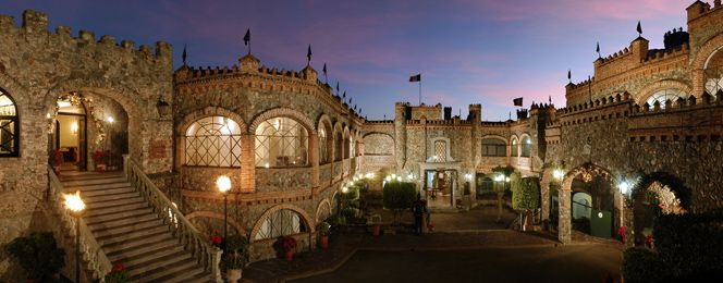 GUANAJUATO  Castillo de Santa Cecilia. I stayed in this castle converted hotel while in Guanajuato. :)
