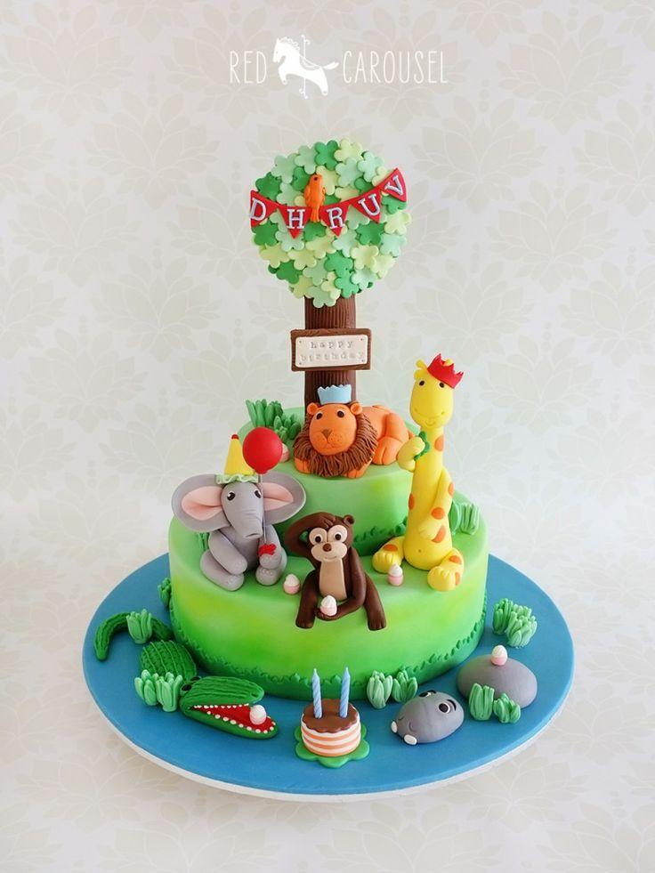 Animal Birthday Cake Images