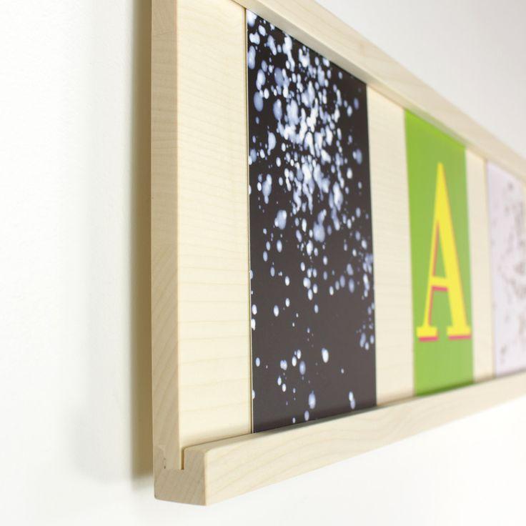 Tischlerei Lenz - Fotoleiste Ahorn - Detail