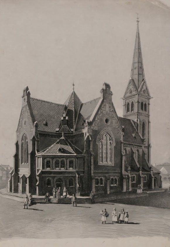 A templom régen - és most