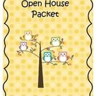 This owl themed packet is great for open house night! It includes a sign in sheet, parent survey, transportation form, and a volunteer sign up shee...