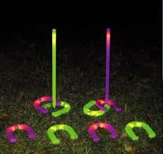 night time horse shoes