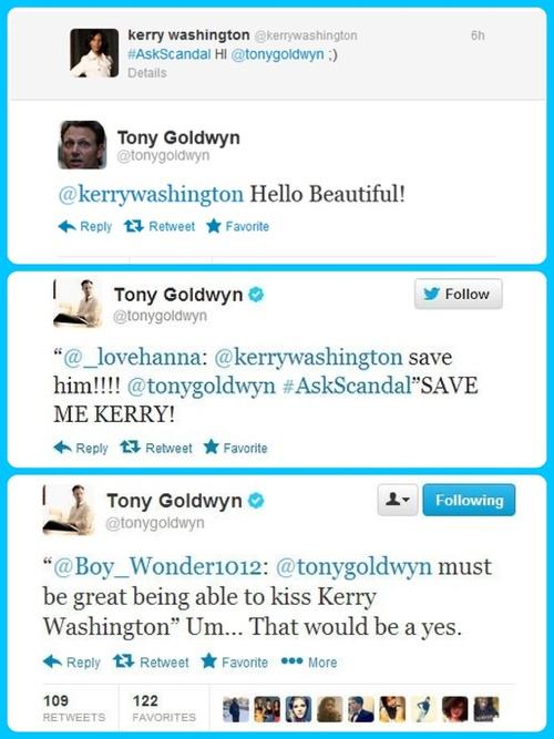 Tony Goldwyn tweets