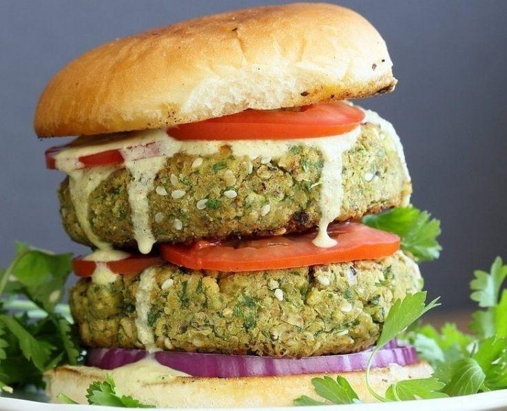 hamburguesa falafel