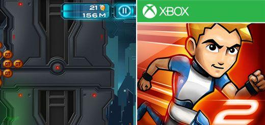 Gravity Guy 2 Windows Phone Game App Review