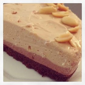 Nat's Thermomixen in the Kitchen: Snicker-licious Layered Cheesecake (non bake) | Thermomix Recipes
