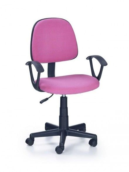 Atraktivní dětská židlička Darian v kvalitním provedení s bavlněným sedákem si získá svou fuchsiovou barvou zejména malé holčičky.