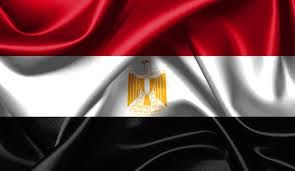 Egyptian flag - The flag of Egypt (Egyptian Arabic: علم مصر, IPA: [ˈʕælæm ˈmɑsˤɾ]) is a tricolour consisting of the three equal horizontal red, white, and black bands of the Arab Liberation flag dating back to the Egyptian Revolution of 1952. The flag bears Egypt's national emblem, the Eagle of Saladin centered in the white band. Google Search