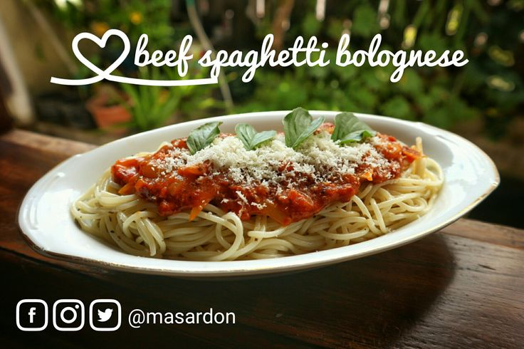 #beef #spaghetti #bolognese | #simple #food #recipes | #jogja #culinary | #clear #sunday | #happy #holiday