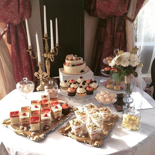 Сладкий стол на свадьбе замечательных ребят Дмитрия и Екатерины. Место…