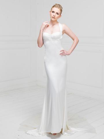 Kostel Klasické & nadčasové Zip Svatební šaty 2014