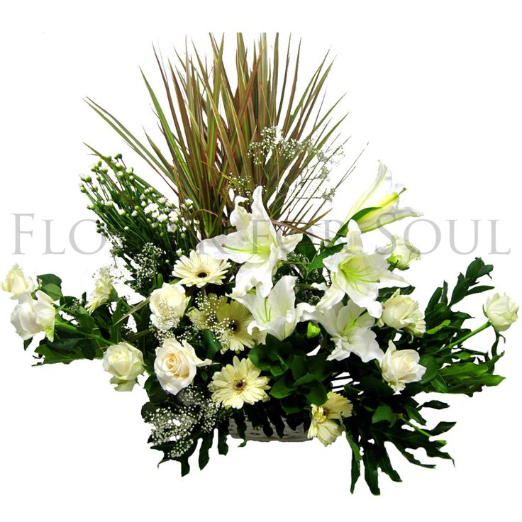 Light in Your Honor Bouquet is a beautifully bright arrangement bursting with elegant fragrance. A stunning bouquet of gorgeous Oriental Lilies are accented with lush greens and seated in a wooden white basket to create a bouquet that is serenely sophisticated, offering peace and comfort to whomever receive it.