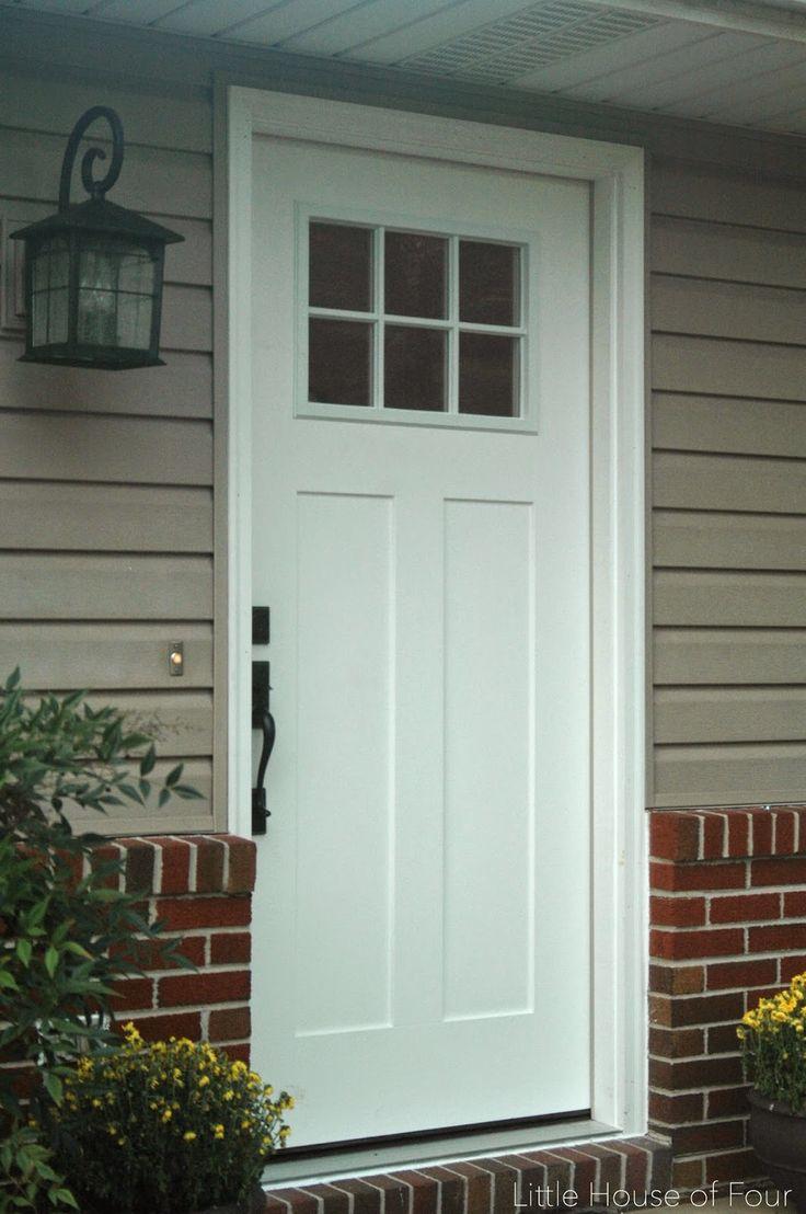 ... 17 Best Ideas About Craftsman Style Front Doors On Pinterest Front Door  Lighting Craftsman ...