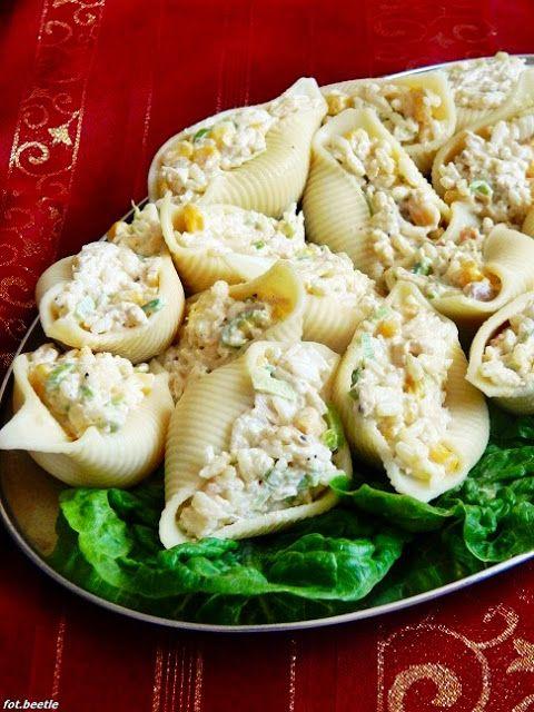 Apetyt i Smak: Nadziewane muszle makaronowe