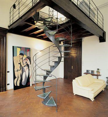 escaleras de caracol modernas | Fotos de Hermosas Escaleras de Caracol