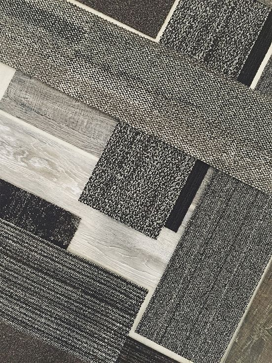 Welcome our all-new luxury vinyl tile. We've put together a floor that isn't carpet tile—but pairs with it perfectly. #InterfaceLVT #PerfectFitFloor