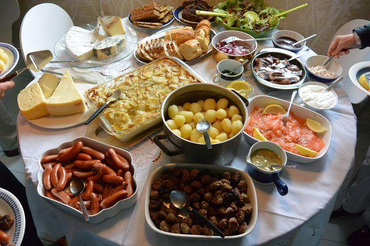 Swedish midsummer dinner