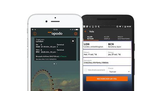 Opodo Application voyage: Agence de voyage en ligne