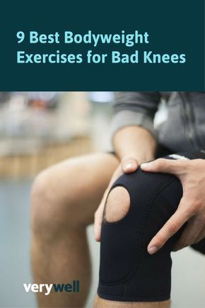 While squats and lunges are two of the most popular bodyweight exercises, they tend to be hard on people with bad knees. Luckily, there are a myriad of other bodyweight exercises that can still give you a great workout but are more low-impact. Here, we recommend nine of those bodyweight exercises that will help you get in shape while still protecting your knees.