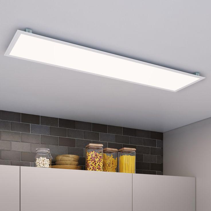 Panneau Led Integree Carre 120 X 30 Cm 40 W Blanc Froid En 2020 Panneau Led Led Plafond Et Led
