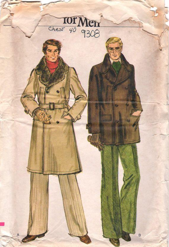 Overcoat pattern