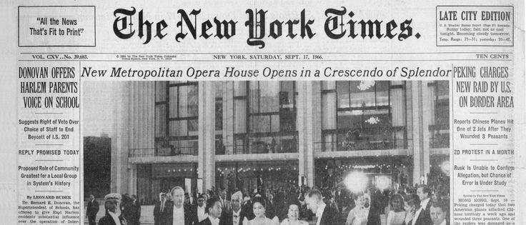 Metropolitan Opera. 50th Anniversary Gala / Μετροπόλιταν Όπερα. Γκαλά για την 50ή επέτειο της πρώτης παράστασης στο Κέντρο Λίνκολν • http://facesofclassicalmusic.blogspot.gr/2016/08/metropolitan-opera-50th-anniversary.html