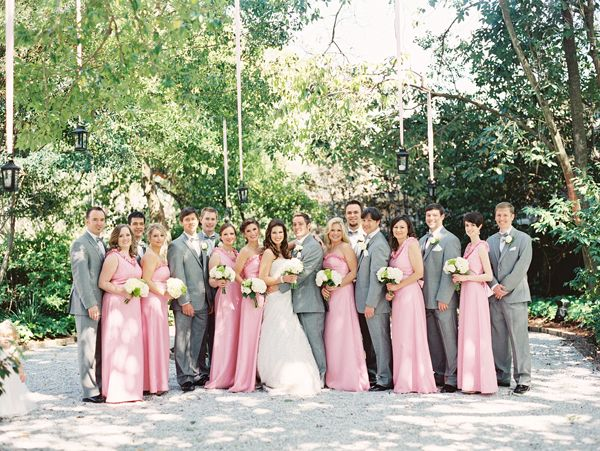 Real Weddings By Color: 25+ Best Ideas About Pink Gray Weddings On Pinterest