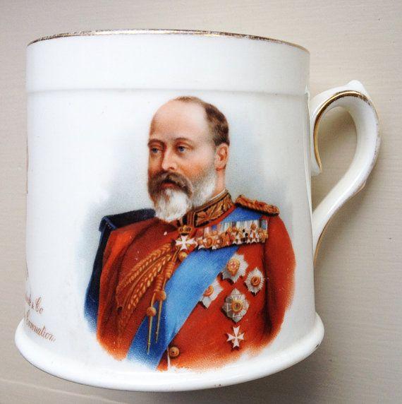 Royal Doulton Coronation Tankard 1902 by EnglishVintageHome