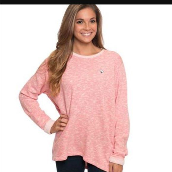 Southern shirt co cotton club pullover candy pink Sold out southern shirt company cotton club pullover in candy pink new with tags. Ordered from so shirt co website when still in stock size M.  Placing under VV as no option for so shirt Vineyard Vines Sweaters Crew & Scoop Necks