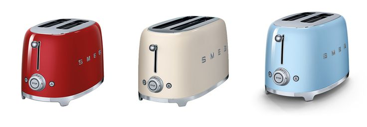 Meet the New Smeg 50's Retro Style Small Home Appliances - oh i want every collection of these -