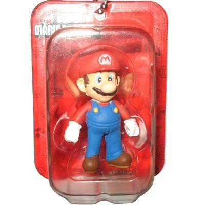 Mario Figure - New Super Mario Bros. Wii Mini Blister Collection Takara Tomy Nintendo @ niftywarehouse.com #NiftyWarehouse #Mario #SuperMario #Nintendo #VideoGames #Gaming #MarioBrothers