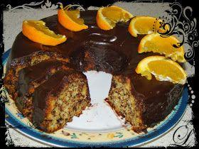 Olga's cuisine...και καλή σας όρεξη!!!: Εύκολο κέικ πορτοκαλιού χωρίς αυγά και βούτυρο