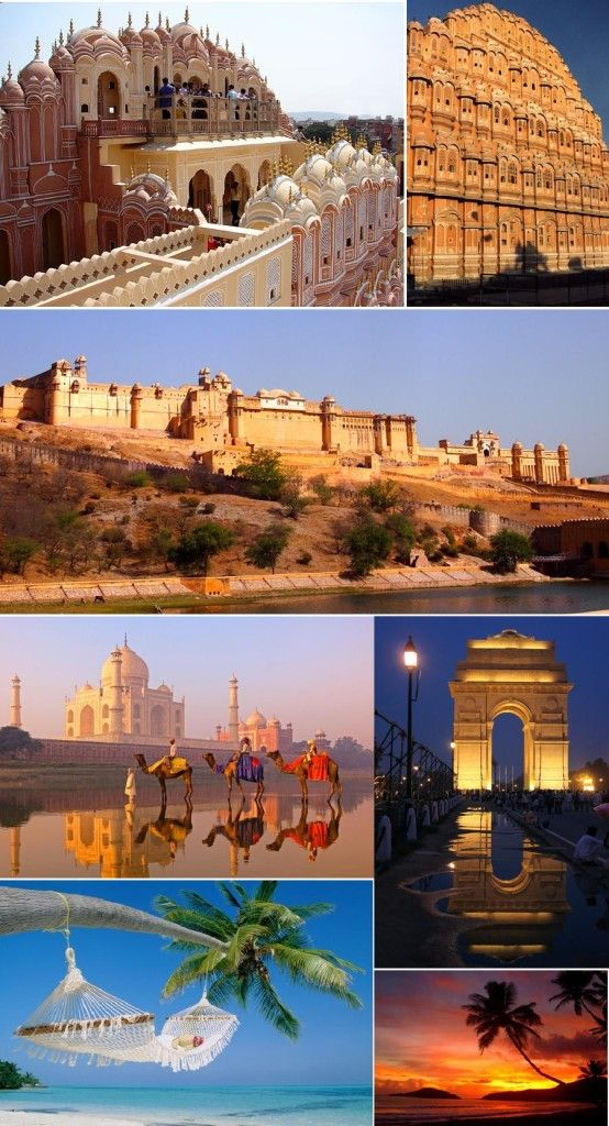 Taj Mahal India Tour 9n/10d - Tours From Delhi - Custom made Private Guided Tours in India - http://toursfromdelhi.com/taj-mahal-tour-package-9n10d-delhi-agra-jaipur-goa/