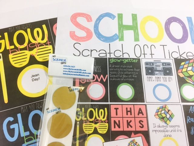 School Scratch Off Tickets to Boost Student and Staff Morale
