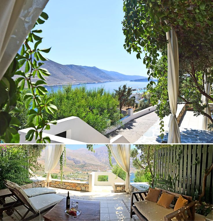 Luxurious Exclusive Rooms with views to the Aegean Blue !