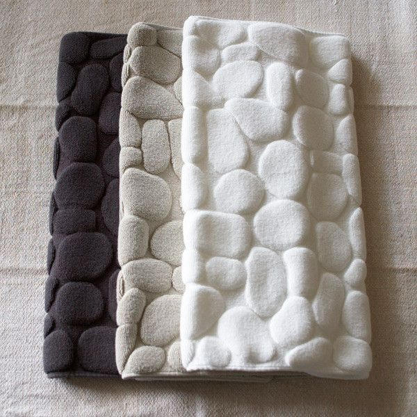 Pebble Bath Mat   How excellent is this  Bathroom PiecesBathroom. 17 Best images about Bathroom on Pinterest   Eclectic bathroom