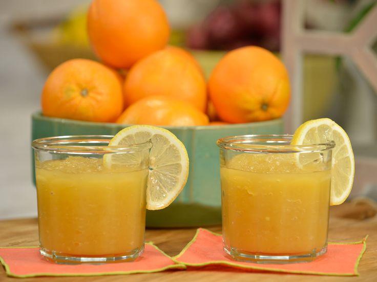 Bourbon Slush recipe from Katie Lee via Food Network