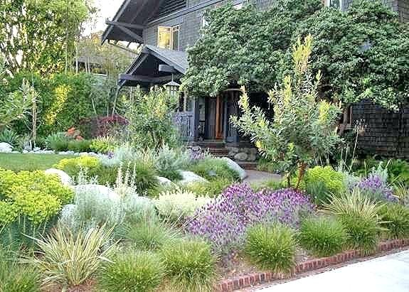 California Landscaping Ideas Front Yard A Is Crafted To Match A Craftsman Home In N Front Yard Landscaping Design California Native Garden Trees For Front Yard