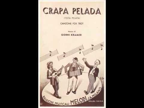 Quartetto Cetra - Crapa Pelada (1945)                                      fantastica..