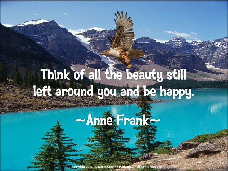 Famous Quotes About Nature's Beauty