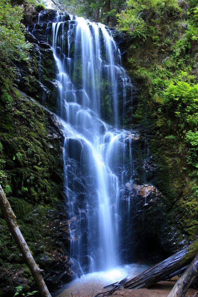 Berry Creek Falls, Berry Creek Trail, Big Basin Redwoods State Park, California