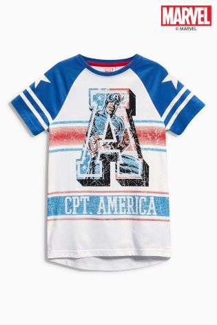 Comprar Camiseta del Capitán América (3-16 años) online hoy en Next: España