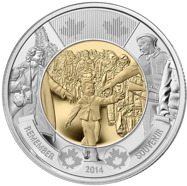 No other photo in Canadian history is as widely known as Wait for Me, Daddy, nor did any other capture so poignantly the impact of the war effort on the lives of Canadians, says the Royal Canadian Mint