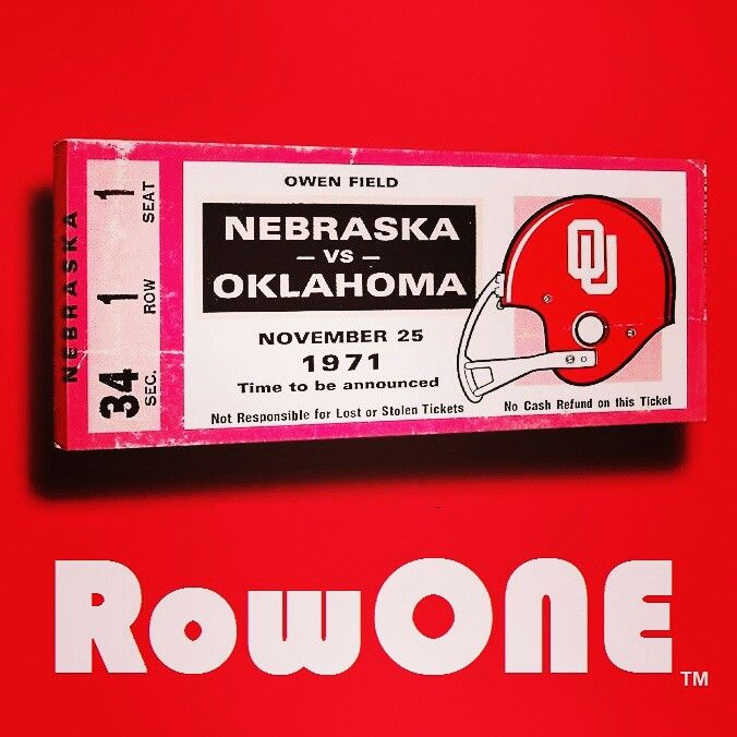 Row one brand retro sports gifts art 126 row one brand unique sports art and sports gift ideas for true fans vintage ticket art and ticket gifts made from 3000 historic sports tickets negle Choice Image