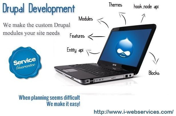 http://www.i-webservices.com/Drupal-Development Try Drupal Web Development Services offered by the trained professionals of I Web Services