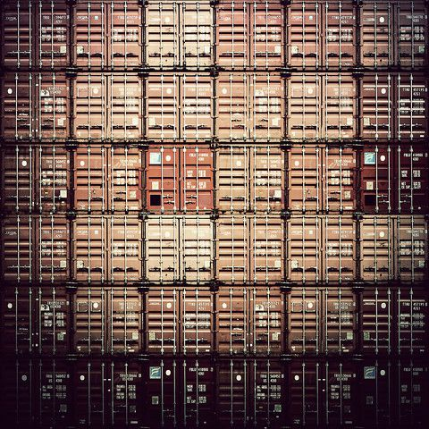 6X6 by David Foster Nass  #Hamburg #abstract #photography #container #harbour