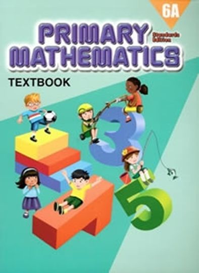 Picture of Singapore Math  Standards 6A Text